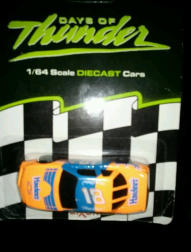 vintage-1990-days-of-thunder-1-64-scale-die-cast-car-18-hardees-car-distributed-by-exxon-stores