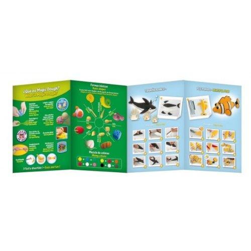 alpino-54456-pasta-de-modelar-magic-dough-sea-world