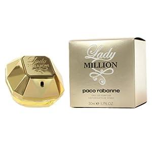 Paco Rabanne Lady Million Eu de Parfum Spray for Women 50 ml