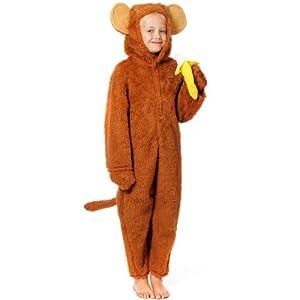 Cheeky Monkey Costume for Kids 8-10 yrs