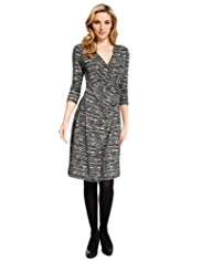 M&S Collection Triangle Wrap Dress with StayNEW™