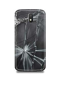 Broken Glass Moto E3 Case-907