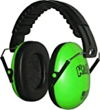 Kidz Kids Ear Defenders/Protectors Hearing Protection Green