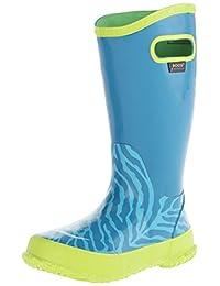 Bogs Kids Zebra Rain Boot (Toddler/Little Kid/Big Kid)
