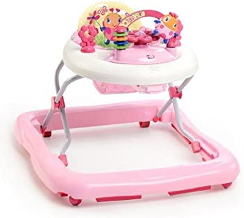 Bright Starts Pretty in Pink Walk-A-Bout Baby Walker