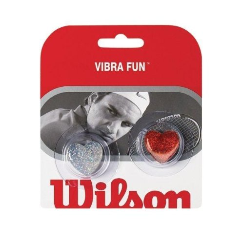Wilson Vibra Fun Glitter Hearts Tennis Dampeners - 1