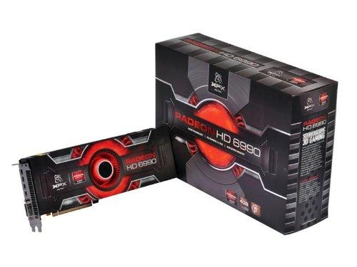 XFX AMD Radeon HD 6990 830M 4 GB GDDR5 Four MINIDP DVI PCI-E Video Card, HD699AENF9