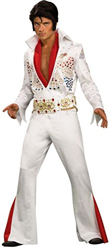 Morris Costumes Men's Elvis Grand Heritage Costume, Medium