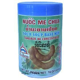 Amazon.com : Thai Tamarind Concentrate - 16 oz jar : Tamarind Juice