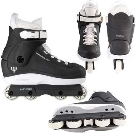 Alchemy Pure Air Aggressive Skates - Black/White