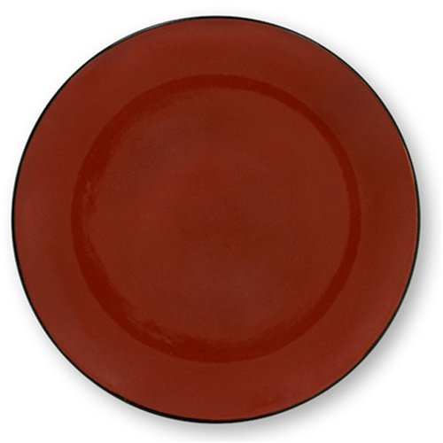 Buy Corelle Hearthstone 7-1/2-Inch Round Luncheon Plate, Chili Red