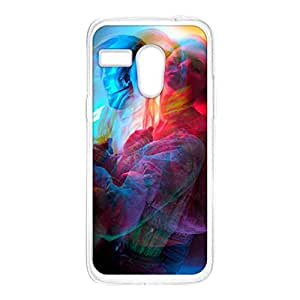 Crazymonk Premium Digital Printed Back Cover For Moto G