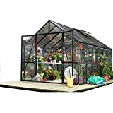 STC Easy Grow Greenhouse, Black Frame, 8 by 12-Feet (Discontinued by Manufacturer)