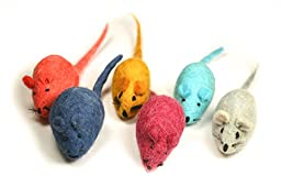 Felted Wool Mouse- 4 Pack