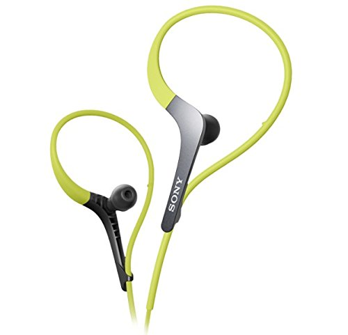 Sony Mdr-As400Ex/G Sports Headphones With Adjustable Ear Loop