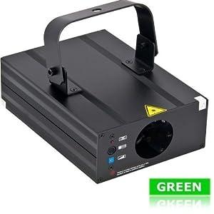 Laserworld EL-60G Ecoline Laser mit Wellen, Tunnel und Spiraleneffekten