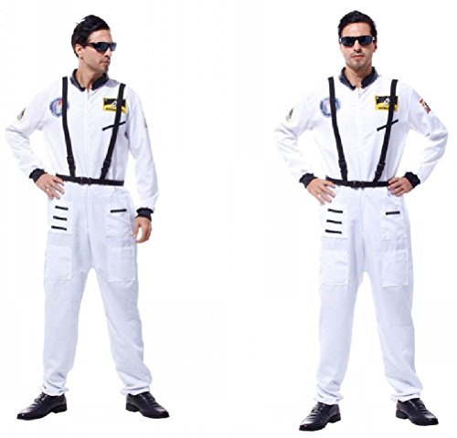 Ponce Halloween Cosplay Adult Stage Costumes Astronaut Astronaut Suit