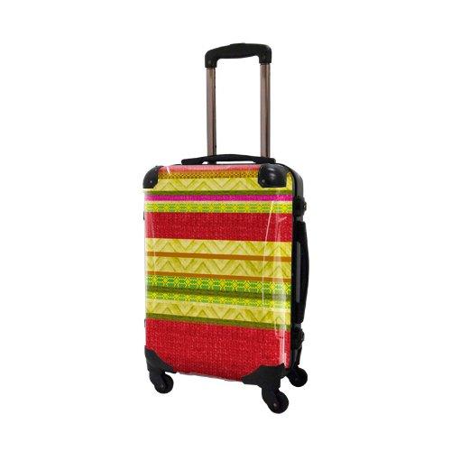 キャラート アートスーツケース ベーシック ベーシック ニットカフ 4輪 機内持込 (CRA01-030B(ニット2))