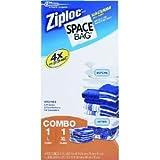 "Ziploc Space Bag Cube 21.5"" X 29.5"" X 10"",26.3"" X 39.5"" X 12.5"",Large,X-Large"