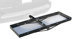 "Paramount Restyling 7701 Folding Hitch Mount Cargo Basket for 2"" Hitch Receivers at Sears.com"