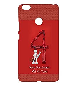 EPICCASE My Toolbox Mobile Back Case Cover For Xiaomi Mi Max (Designer Case)