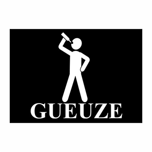 teeburon-gueuze-sticker-pacchetto-di-4