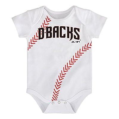 MLB Infant Boys Baseball Creeper