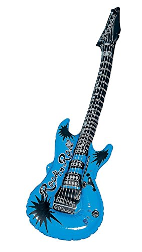 Blue Inflatable Guitar (1 piece) - 1