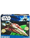Star Wars Clone Wars Obi Wan's Jedi Starfighter New Packaging
