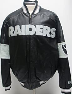 Oakland Raiders Leather Jacket by G-III Sports