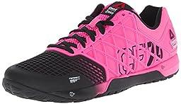 Reebok Women\'s R Crossfit Nano 4.0 Training Shoe, Solar Pink/Black, 10 M US