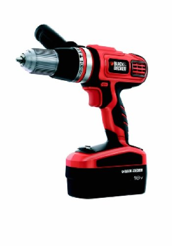 Black  &  Decker HP188F4BK High Performance Hammer Drill with 2 Batteries