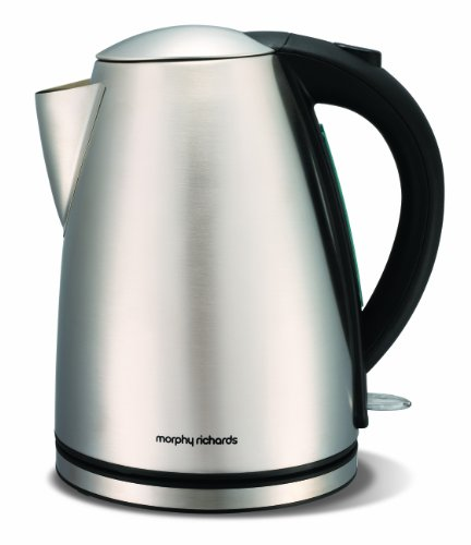 Morphy Richards 43615 Stainless Steel Jug Kettle, 1.7 L, 3 KW