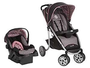 Safety 1st Sleekride LX Travel System, Eiffel Rose