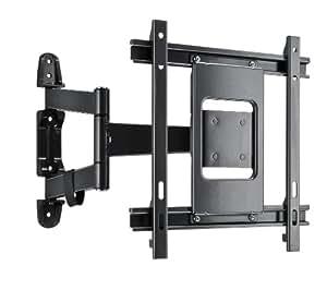 Vivanco WM3735 TV Wandhalterung 66 - 94 cm (26 - 37 Zoll), bis 25 kg, voll beweglich schwarz