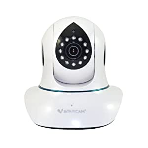 Vstarcam T7838WIP IP/Network Camera Plug and Play Night Vision with Two-Way Audio 3S Fast Easy Installaton
