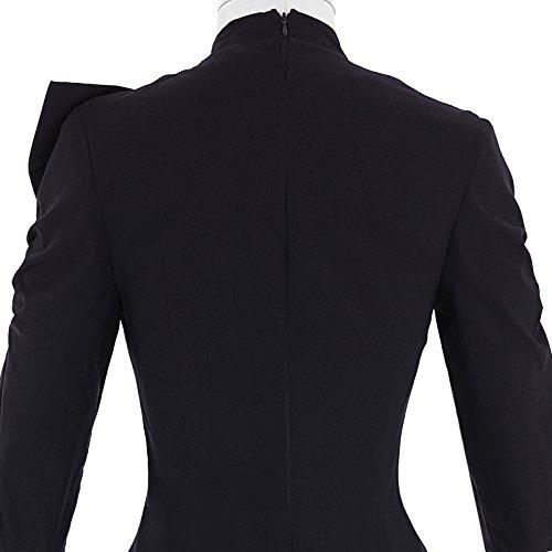Belle Poque Women 50s Bodycon Dress Slim Vintage Pencil Dress BP106/146 6