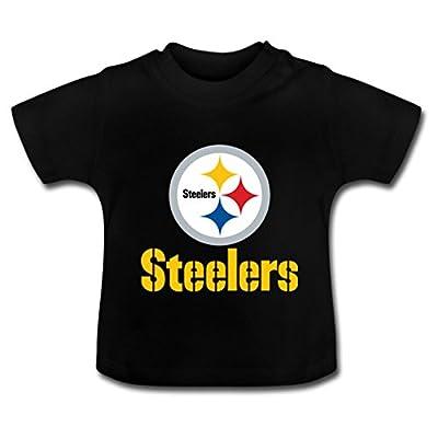 MsMr Cotton T Shirts Pittsburgh Steelers Logo Baby Boys/Girls