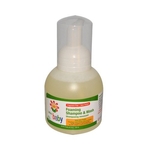 Lafe's Organic Baby Foaming Baby Shampoo &  Wash,  Bottle - 1