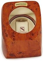 Steinhausen Single Automatic Watch Winder Burl-Wood