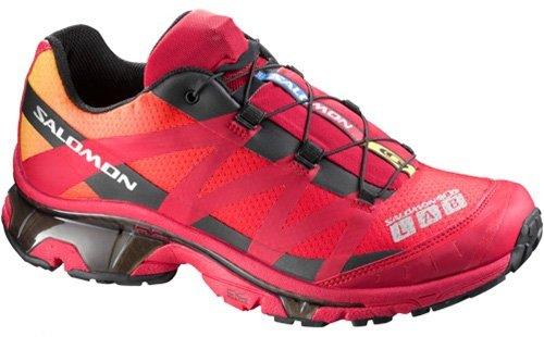 SalomonUnisex  S-LAB 3 XT Wings Trail Running Shoe,Bright Red/Imperial Yellow/Black,12 M US Men's/14 M US Women's