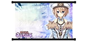 "Hyperdimension Neptunia Game Fabric Wall Scroll Poster (32"" x 20"") Inches"