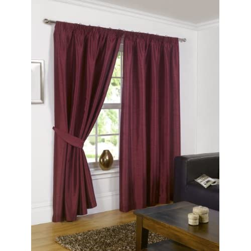Top 12 Fully Lined Readymade Curtains In Red