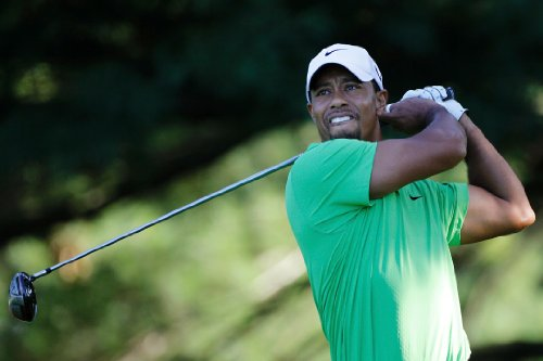 Tiger Woods 18X24 Poster - Banner - Golfer #01 (Tiger Woods Photo compare prices)