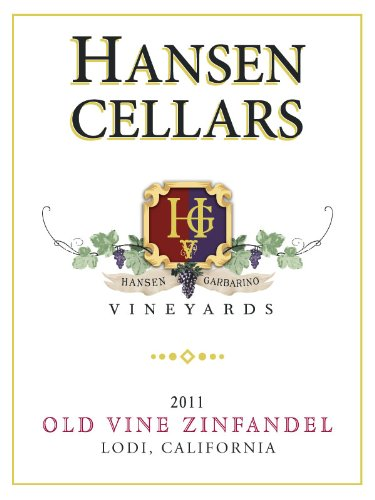 2012 Hansen Cellars Old Vine Zinfandel 750 Ml