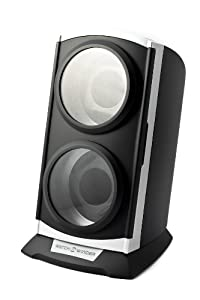 Time Tutelary Automatic Vertical Dual Watch Winder with Timer Function