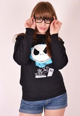 Nightmare Before Christmas Tim Burton Unisex Sweatshirt (Large)