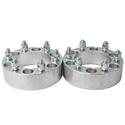 2pc | 1.5″ | 6×5.5 (6×139.7) Wheel Spacers | 14×1.5 studs – for Cadillac Chevy GMC Trucks SUV Van