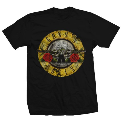 Bravado Guns N' Roses Distressed T-Shirt - Sizes from S to XXXXL