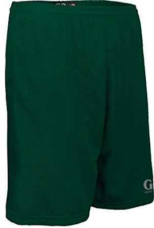 Buy AP6479 Unisex Solid Color 9 Short-1.5 Covered Elastic Waist with Draw String by Game Gear